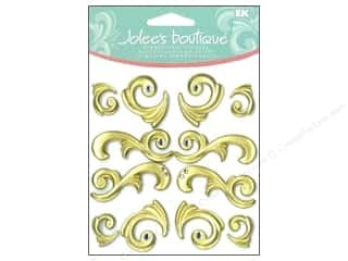 Jolee's Boutique Cabochons Gold Flourishes