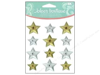 Jolee's Boutique Cabochons Gold and Silver Stars