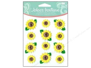 Jolee's Boutique Cabochons Sunflowers