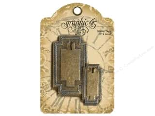 Graphic 45 Staples Metal Tag