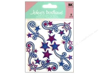 sticker: Jolee's Boutique Stickers Star Flourishes