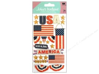 Independence Day $6 - $10: Jolee's Boutique Stickers Large God Bless America