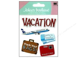 Vacations: Jolee's Boutique Stickers Vacation