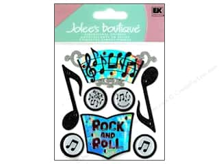 Cards Music & Instruments: Jolee's Boutique Stickers Music