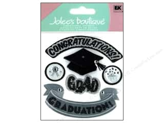 Valentines Day Gifts Stickers: Jolee's Boutique Stickers Hats Off Grad