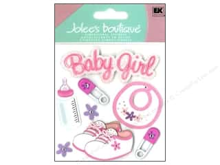 3 Pairs: Jolee's Boutique Stickers Baby Girl