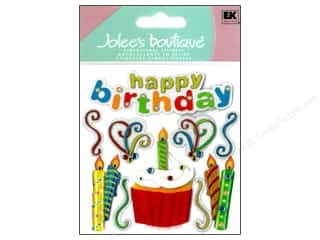 Felting Birthdays: Jolee's Boutique Stickers Happy Birthday