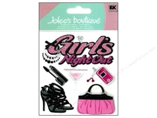 Jolee's Boutique Stickers Girls' Night Out