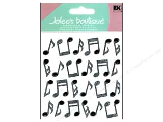 Music & Instruments Stickers: Jolee's Boutique Stickers Repeats Music Notes