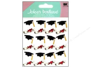 Jolee's Boutique Stickers Repeats Grad Cap and Diploma