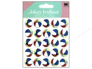 sticker: Jolee's Boutique Stickers Repeats Beach Balls