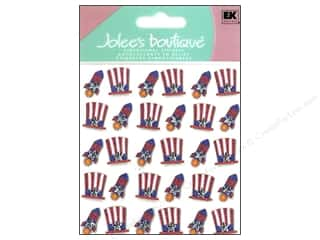 Americana Gifts: Jolee's Boutique Stickers Repeats Patriotic Hat and Rocket