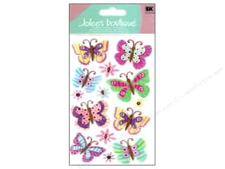 Jolee's Boutique Stickers Repeats Large Paisley Butterfly