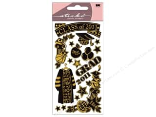 Graduations Black: EK Sticko Stickers Graduation Class of 2011