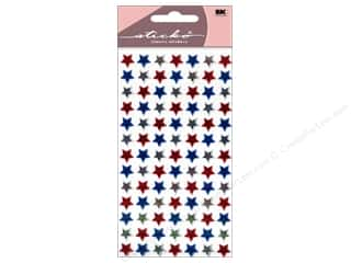 Independence Day EK Sticko Stickers: EK Sticko Stickers Patriotic 4th of July Stars