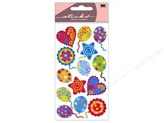 Party & Celebrations inches: EK Sticko Stickers Balloon Value Pack