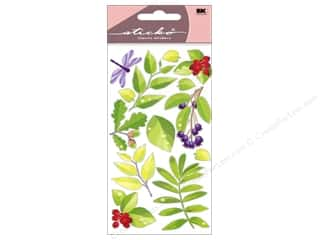 Flowers EK Sticko Stickers: EK Sticko Stickers Spring Leaves
