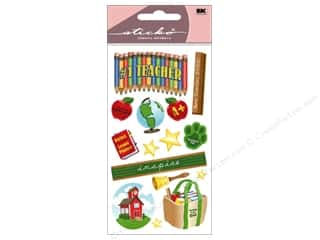 Scrapbooking & Paper Crafts Back To School: EK Sticko Stickers Teacher