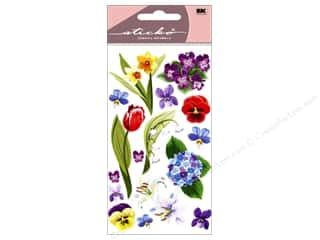 sticker: EK Sticko Stickers Floral Medley