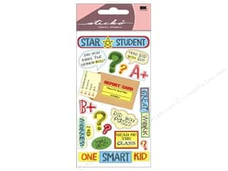 theme stickers  holidays: EK Sticko Stickers Star Student