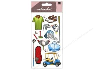 Scrapbooking EK Sticko Stickers: EK Sticko Stickers Golf