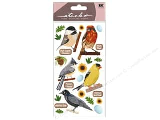 EK Sticko Stickers Top US Birds 1