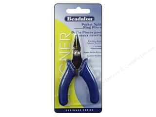 Beadalon Tools Pocket Split Ring Pliers Compact Handle