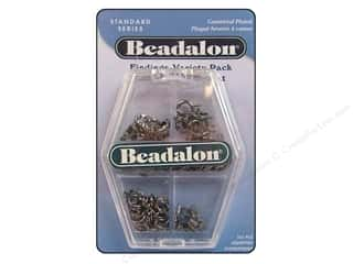 beadalon clasp: Beadalon Variety Pack Gunmetal 112pc