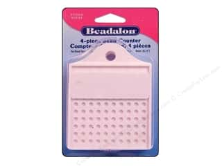 Weekly Specials EZ Acrylic Templates: Beadalon Tools Economy Bead Counter 4pc
