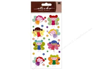 EK Sticko Stickers Sparkler Lovely Fairies
