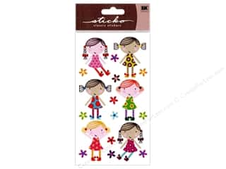 EK Sticko Stickers Sparkler Cute Dolls