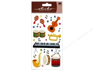 EK Sticko Stickers Sparkler Musical Instruments