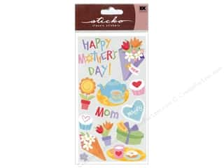 Mother's Day Papers: EK Sticko Stickers Sparkler Mother's Day