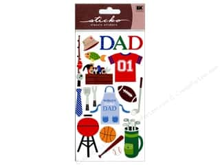 Father's Day Size: EK Sticko Stickers Sparkler Father's Day