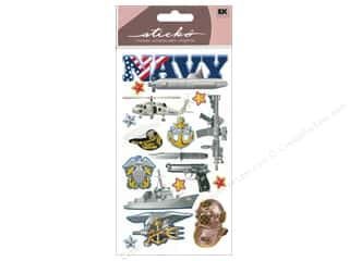 Careers & Professions Crafting Kits: EK Sticko Stickers Navy