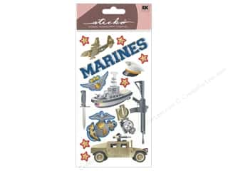 Careers & Professions Crafting Kits: EK Sticko Stickers Marines