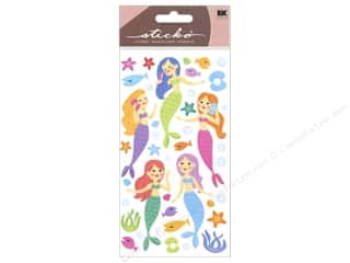 Stars EK Sticko Stickers: EK Sticko Stickers Mermaids