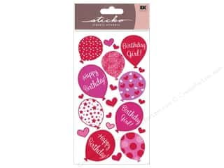 Birthdays Stickers: EK Sticko Stickers Birthday Girl