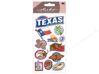 EK Success Vacations: EK Sticko Stickers Texas