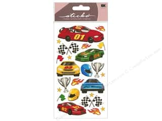EK Sticko Stickers Race Car
