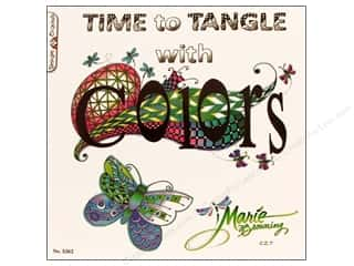 Design Originals Paper Craft Books: Design Originals Time To Tangle With Color Book