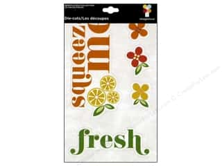 Paper Accents Summer Fun: Imaginisce Die Cut Berrylicious Phrases
