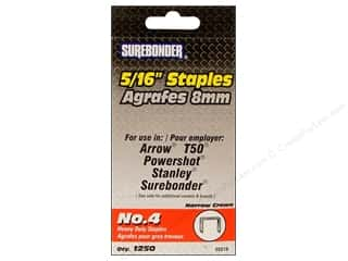 Surebonder Staples Heavy Duty 4#  5/16&quot; 1250pc