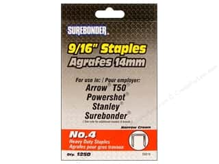 "Staples: Surebonder Staples Heavy Duty 4#  9/16"" 1250pc"