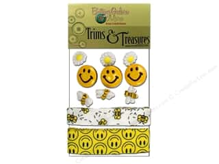Buttons Galore Trims & Treasures Bee Happy