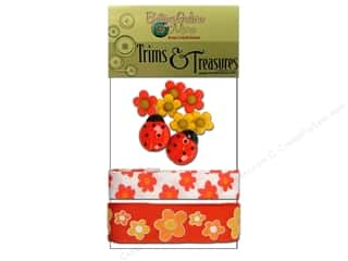 Buttons Galore Trims & Treasures Summer Blooms