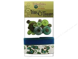 Buttons Galore Trims &amp; Treasures Electric Blue