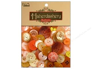 Buttons Galore: Buttons Galore Haberdashery Buttons Sunshine