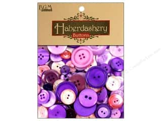 Buttons Sew-on Buttons: Buttons Galore Haberdashery Buttons Classic Purples