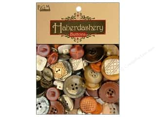 buttons: Buttons Galore Haberdashery Buttons Classic Natural